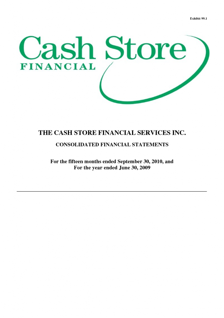Securities Fraud Claims Against Cash Store Financial Services Investigated by Rosen Law Firm