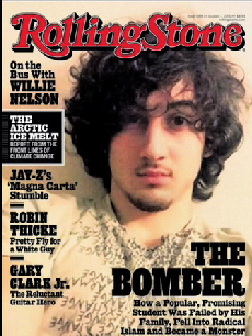 rolling stone cover outrage
