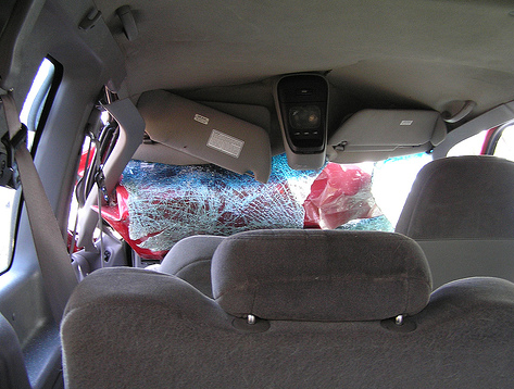 My Spouse Wrecked My Company Car: What Should I Do?