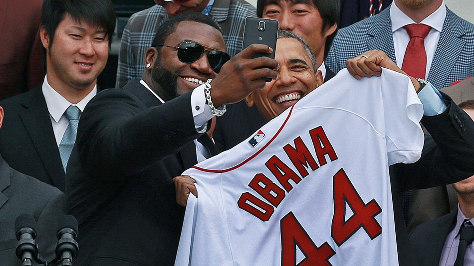 ortiz and obama selfie