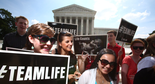 "Supreme Courts Strikes Down Abortion ""Buffer Zone"""