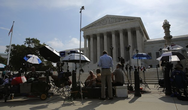Lawyers Fight for Marriage Equality Case in Supreme Court