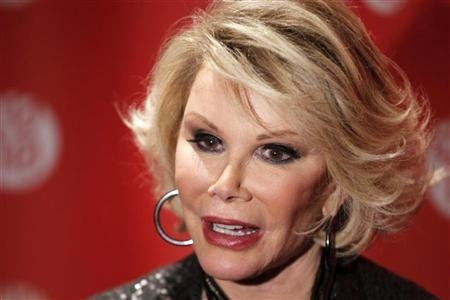 Joan Rivers' Never-Say-Die Attitude Will Prevail