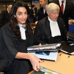 Mrs Clooney's Court Date