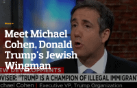 Who Is Trump's Attack-Dog Lawyer, Michael Cohen?