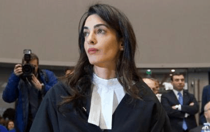 Clooney on the UK Supreme Court?  Huh?