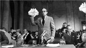 John Dean during the Watergate scandal