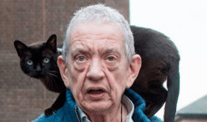 Lawyer-Stalking Pensioner Permitted Cat in Court 1