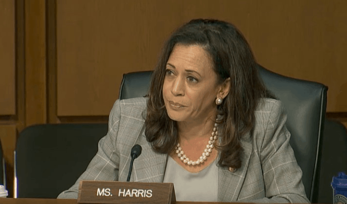 kamala harris at jeff sessions testimony lawfuel.com