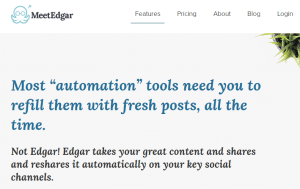 meet edgar social sharing tool