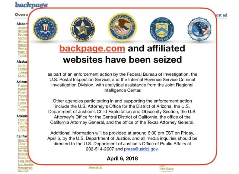 backpage.com seized