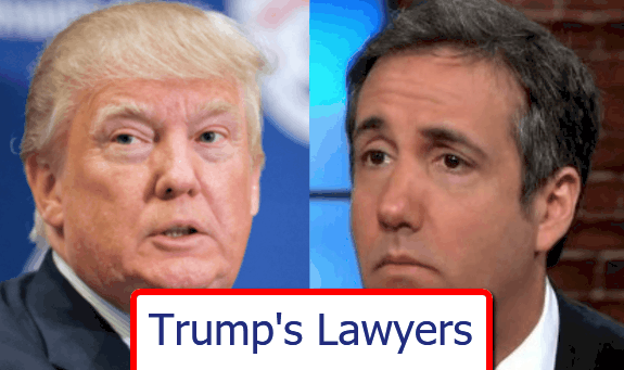 All The President's (Legal) Men - The Trump Lawyers Who Have Come (Or Gone) 1