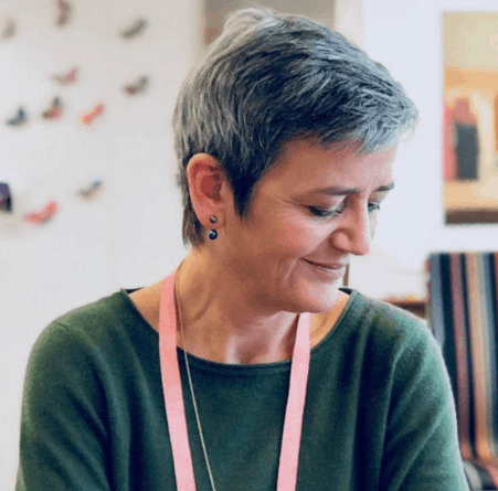 EU regulator Vestager, LawFuel