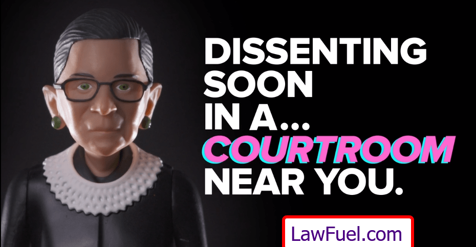 Holy Toledo . . It's RBG The Action Figure! 1