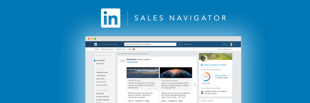 3 Ways to Use LinkedIn Sales Navigator For Smart Business Intelligence 1