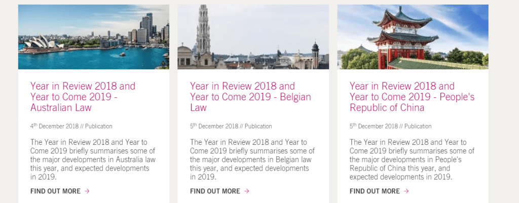 Year in Review 2018 and Year to Come 2019 2