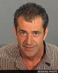 TMZ.com, a celebrity news website, published a four-page portion of Los Angeles Sheriff's Deputy James Mee's handwritten report of actor-director Mel Gibson's arrest on suspicion of drunk driving on July 28. The picture is Gibson's arrest photo.