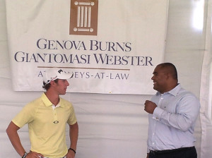 Law Firm Hosts Kids' Clinic at The Barclays PGA Tour 2
