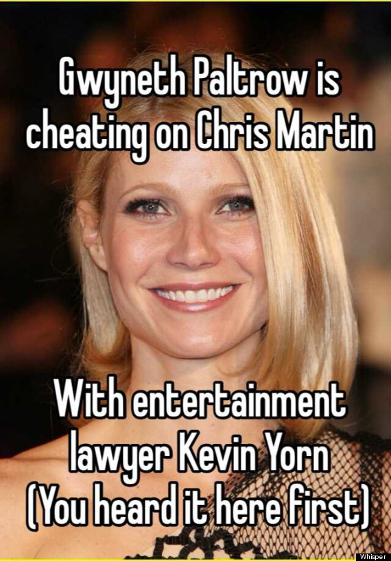 NO - Gwyneth Paltrow Was NOT Cheating with the Lawyer 2