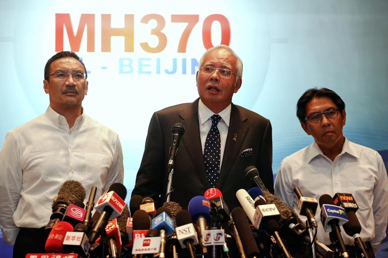 Malaysian prime minister on fate of flight MH370