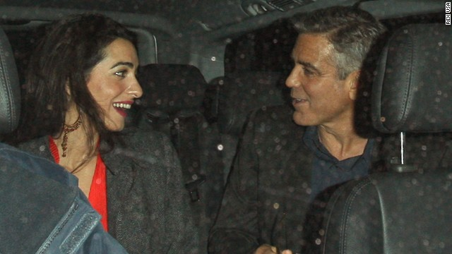 """Mrs Clooney Makes """"Most Fascinating"""" Person List 2"""