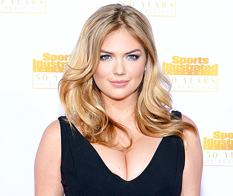 Kate Upton Recovers From Photo Leak to Take Award 2