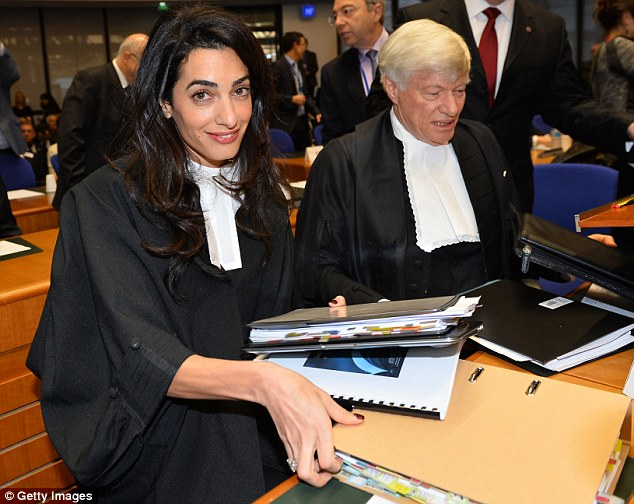 Mrs Clooney's Court Date 2