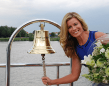 Deborah Hutton and the Exclusive Wellness Cruise Through France 2
