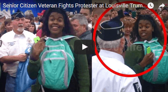 incitement to violence at trump rally
