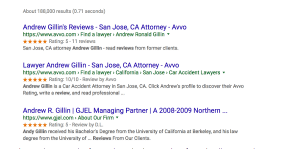 Five Ways for Lawyers to Improve Their Online Reputation Today 1