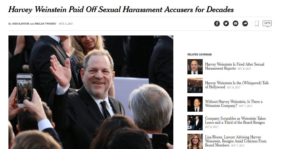 Harvey's Lawyers - Which Star Lawyers Is Harvey Weinstein Turning To? 6
