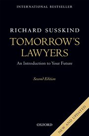 Susskind's New Future of Law Book and the Questions Law Recruiters Don't Like 6