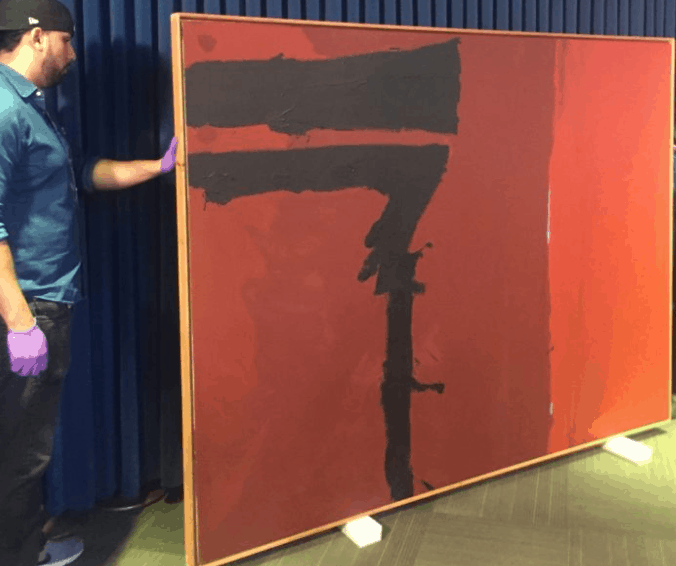After Missing For 40 Years, Stolen Motherwell Painting Recovered 2