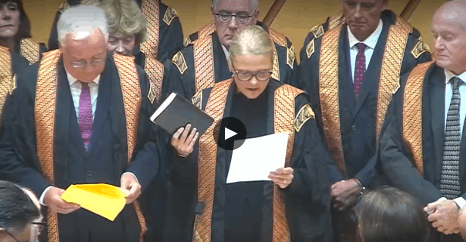 What The New Chief Justice Had To Say About Her New Court 4