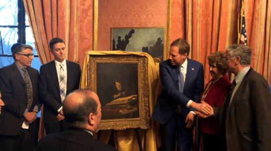 'Sadistic & Unjust' Nazi Plunder Sees US Attorney Return Old Master to Rightful Owners 1