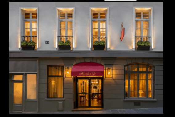 Our Paris Pick:  Hotel Saint-Paul Rive-Gauche 1