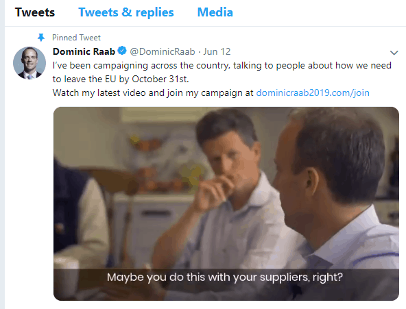 From Magic Circle To Bull Ring: Dominic Raab's Twitter-Bashing 4
