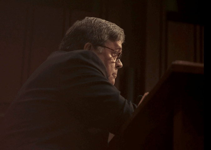 William Barr - Is He Trump's Dick Cheney? 1