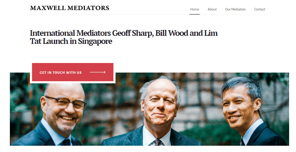 Top Mediator Sets Up Singapore Chambers 4