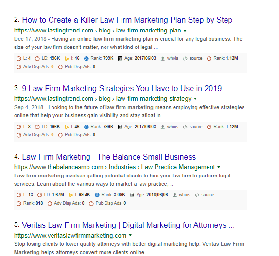 10 Simple Steps For Lawyers To Achieve Law Firm SEO Success . . And Top Blog Rankings 6