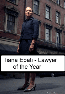 Tiana Epati:  LawFuel 2019 Lawyer of the Year 4