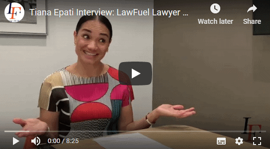 Tiana Epati: LawFuel 2019 Lawyer of the Year 1