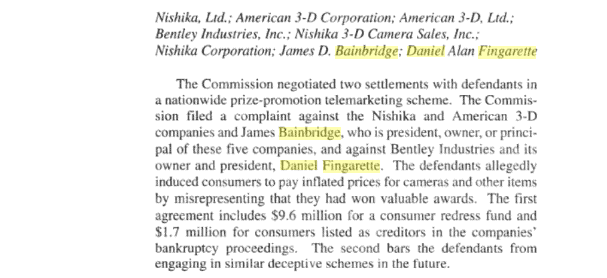 The FTC Prosecution, The Mystery Money Man and the Continuing Tale of Pierce Bainbridge 6