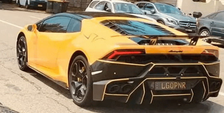 The Racy, Risque Lambo Plate That Caused Offence For a Colourful Barrister Who Won His Battle . . Again 1