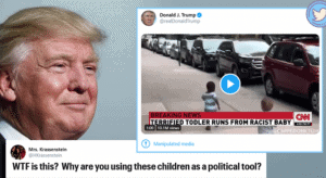 """Terrified Todlers"" Lawsuit - President Trump, Trump Campaign, Pro-Trump Meme Creator Sued For Toddlers' Civil Rights Violations 3"