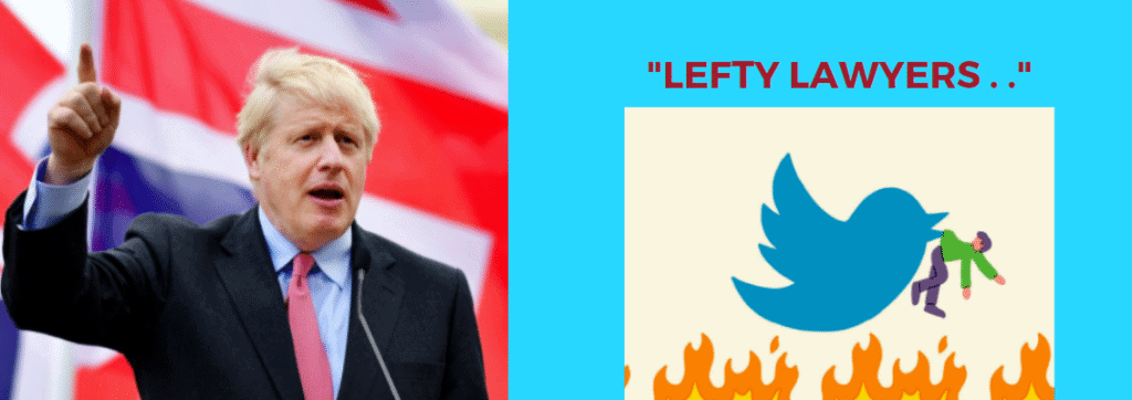 Boris's Lefty Lawyer Taunt Sees Twitter Tangle From Junior & Senior Lawyers Alike 2