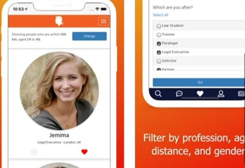 The New Dating App For Lonely Lawyers - The Legal Profession's Dating App Designed To Minimize Time and Maximize Dating Success 2