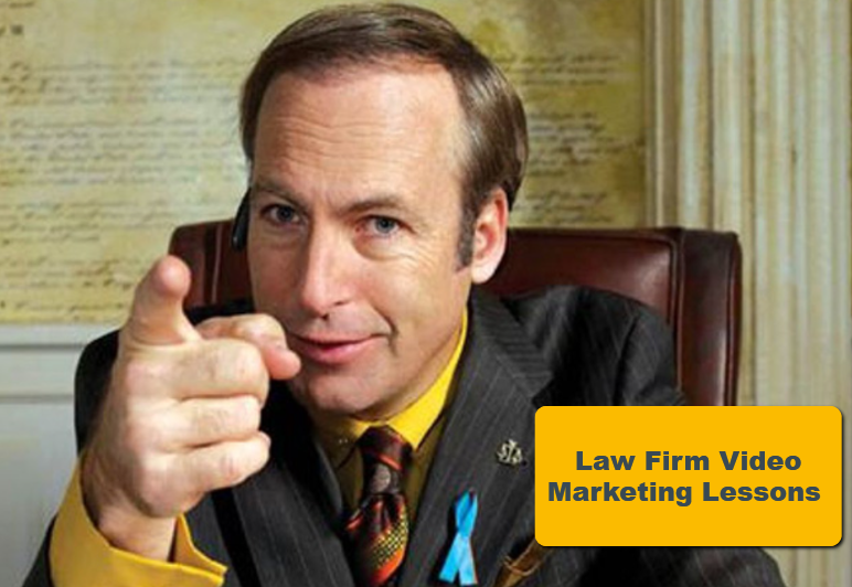 Why You Don't Need Saul Goodman To Get Great Video Marketing For Lawyers 2