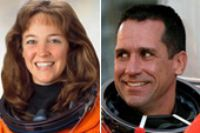 Lisa Marie Nowak, a 43-year-old NASA astronaut who soared into space last summer, was grounded Tuesday in an Orange County Jail cell, accused of trying to kill her rival in a love triangle with another NASA astronaut. 2