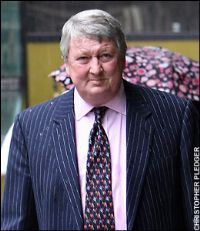 """A crooked insurance chief and two of his former directors were jailed for up to seven years each today for covering up one of Britain's """"worst commercial disasters"""". 2"""